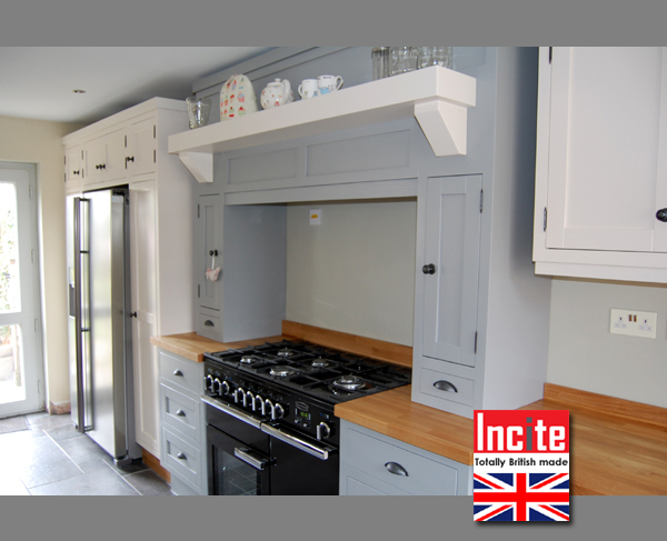 Kitchen By Incite Interiors Derby Painted Shades Of Grey Kitchen