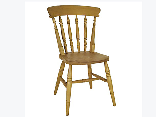 Beech High Back Spindle Dining Chair To Compliment The Dining Room Wooden Furniture Of Incite Interiors Derbyshire