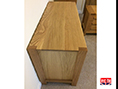 Solid Oak Top of Handmade to Measure Desk