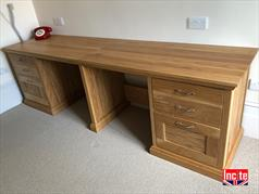 Made To Measure Oak Desk