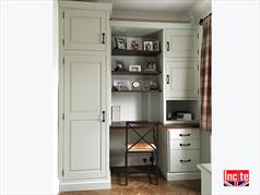 Fitted Bespoke Painted Home Office