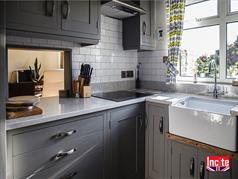 Small Bespoke Painted Kitchen