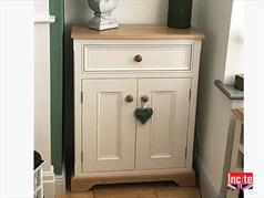 Painted Custom Made Oak Sideboard