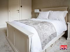 Custom Made Painted Panelled Bed