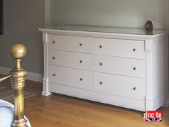 Bespoke Painted Oak Chest of Drawers