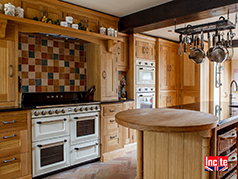 Beautiful Handmade Wooden or Painted Bespoke Kitchens Custom made, fitted or freestanding units made to order to plan by Incite Interiors Draycott Derbyshire