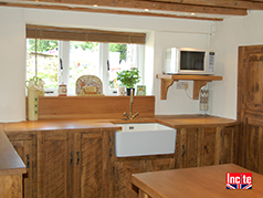 Bespoke Handmade To Measure In Derbyshire This Country Rustic Pine And Oak Fitted Kitchen By Incite Oak Fitted Kitchens, Walnut Fitted Kitchens, Pine Fitted Kitchens, Solid Wooden Kitchens, Painted Wooden Fitted Kitchens, Draycott Mills, Draycott, Derby