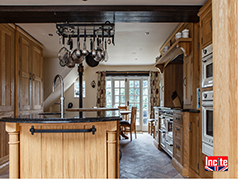Custom Handmade Oak Kitchen