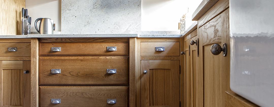 Beautiful hand Crafted Solid Oak Kitchens by Incite Interiors