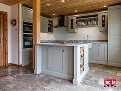 Oak Painted Handmade Kitchen