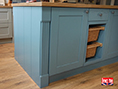 Custom Made Free-Standing Kitchen Island