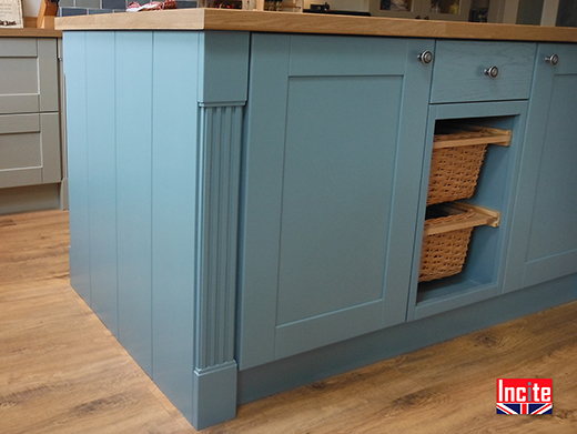 British Made Free-Standing Kitchen Island