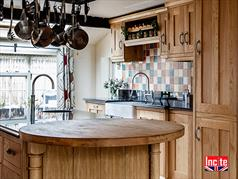 Beautiful Handmade Oak Kitchen Island