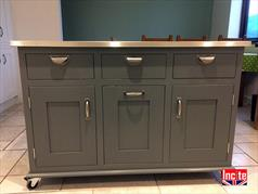 Custom Hand Painted Kitchen Islands