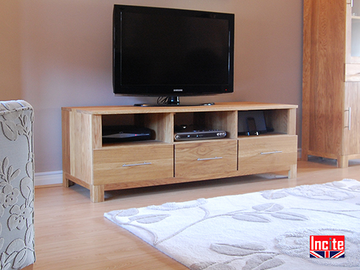 TV Cabinet with Media Storage