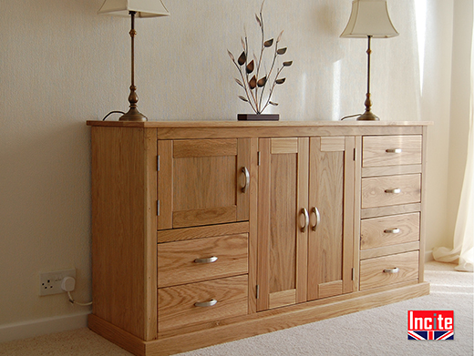 Multi Function Oak Sideboard