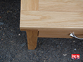 Oak Occasional Table with Drawer