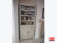 Painted Custom Made Bookcase Cupboard