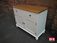 Handmade Sideboard Oak Painted