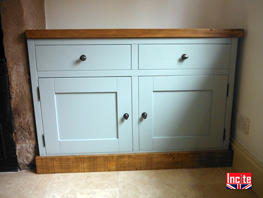 Derbyshire Made Painted Pine Sideboard