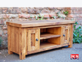 Plank Pine Solid Wooden Lounge Furniture