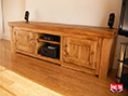 Solid Plank Pine Large TV Media Unit