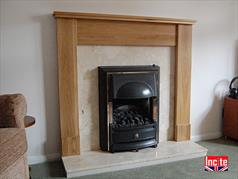 Custom Made Oak Fire Surrounds Handmade To Your Size In Derbyshire