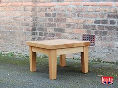 British Made Solid Oak Occasional Table