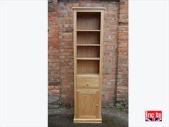 Handmade British Made Oak Tall Slim Bookcase,Oak TV Cabinets, British Handmade Oak Furniture, Made In Britain Oak Furniture,British handmade Oak bedroom Furniture, British handmade Oak Lounge Furniture, British Handmade Oak Dining Furniture, British Handmade Kitchen Furniture, Made In Britain handmade Oak Bedroom furniture, Made In britain Handmade Lounge Oak furniture, Made In britain handmade Oak Kitchen furniture, Made In britain Handmade Oak Dining Furnitture, Custom Made To measure Oak furniture By incite Interiors derbyshire, Draycott, Derby, Nottingham, leicester, Burton On trent, Northampton, East Midlands