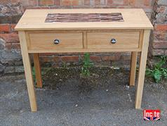 Custom Made Oak Console Table