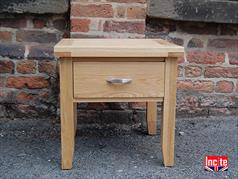 Oak Lamp Side Table Made to measure