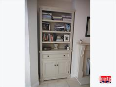 Painted Custom Made Bookcase