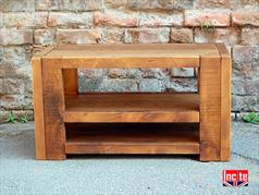 Handcrafted Open Beam TV Unit