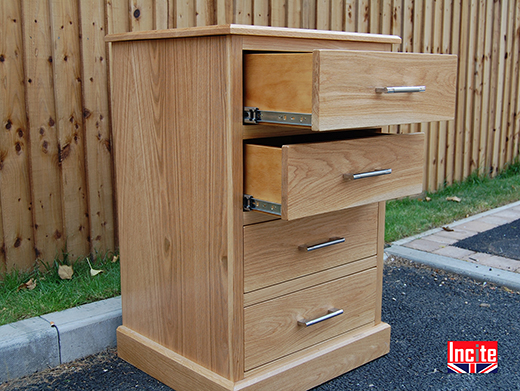 Bespoke Oak Chest of Drawers