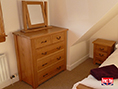 Made to Measure Oak Chest of Drawers