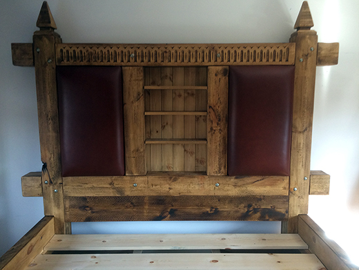 Custom Handcrafted Sleeper Drawer Bed