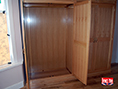 Fitted Oak Wardrobe with Top Boxes
