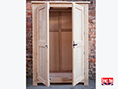 Oak Natural Waxed Wardrobe