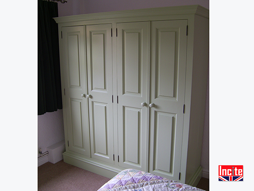 Painted Fitted Bedroom Furniture