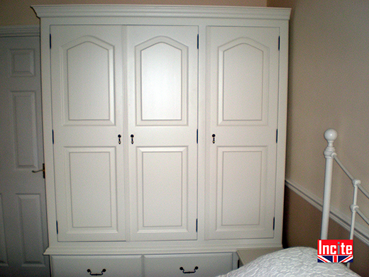 Painted Custom Made To Measure Wardrobe