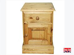 Traditional Farmhouse Pine Pot Cupboard Bedside By Incite Interiors Derbyshire
