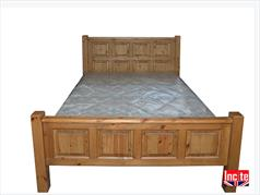 Farmhouse Solid Pine Tudor Bed