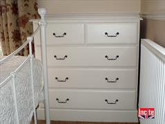 Painted Chest Of Drawers Handcrafted