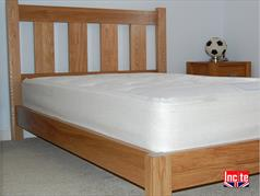 Oak Single Bespoke Slat Bed Handmade