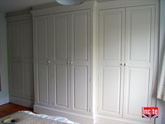 Painted Custom Made Fitted Wardrobe