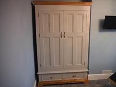 handcrafted Painted Wardrobe