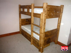 Handmade Wooden Bunk Beds