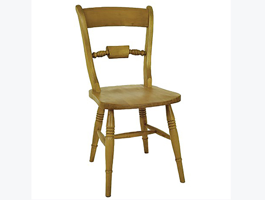 Beech Bar Back Wooden Dining Chair