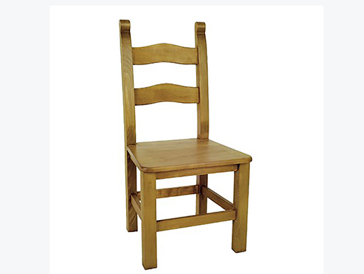 Bretton Solid Seat Wooden Dining Chair