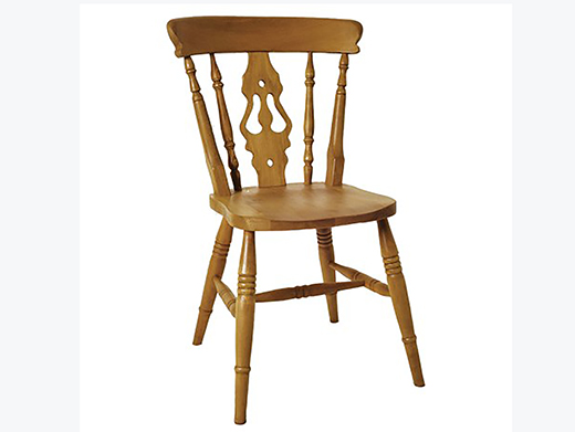 Beech High Back Fiddle Dining Chair To Compliment Handmade, Bespoke, Custom made To Measure Wooden Furniture By Incite Interiors Derbyshire
